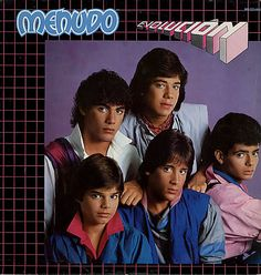 Menudo - also with Ricky Martin! such talent!